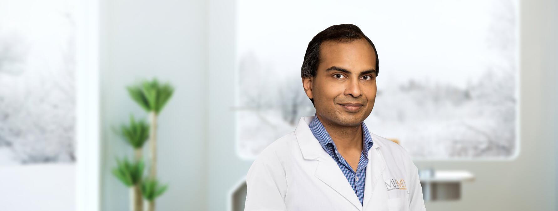 portrait of a rheumatologist